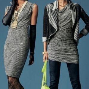 CAbi Monroe 2 in 1 Tunic Jersey Dress